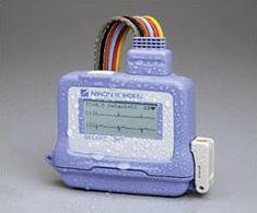 入浴対応型ホルター心電計